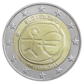 "Slowakije 2 Euro ""10 Jaar EMU"" 2009"