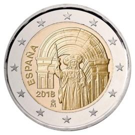 """Spanje 2 Euro """"Santiago de la Compostella"""" 2018"""