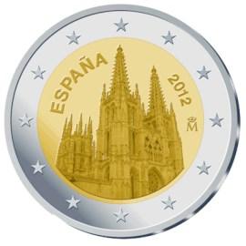 "Spanje 2 Euro ""Burgos"" 2012"