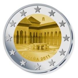 """Spanje 2 Euro """"Granada"""" 2011"""