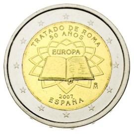 """Spanje 2 Euro """"Rome"""" 2007"""