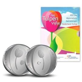 5 Euro 2012 Tulpenmunt Proof