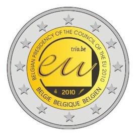 """België 2 Euro """"EU Voorzitter"""" 2010"""