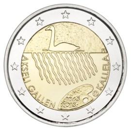 """Finland 2 Euro """"Gallen-Kallela"""" 2015 UNC"""