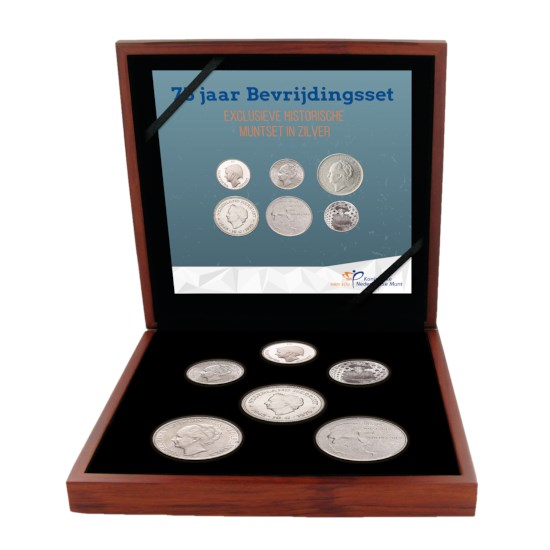 75 Years of Liberation Coin Set
