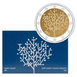 """Estland 2 Euro """"Tartu"""" 2020 BU Coincard"""