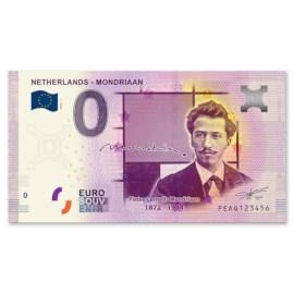 """0 Euro Biljet """"Mondriaan"""""""