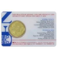 Vatican 50 Cent 2018 BU Coincard