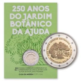 """Portugal 2 Euro """"Botanical Garden"""" 2018 BU Coincard"""
