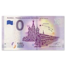 """0 Euro Biljet """"Moskou"""""""