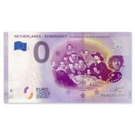 "0 Euro Biljet ""De Anatomische Les"""