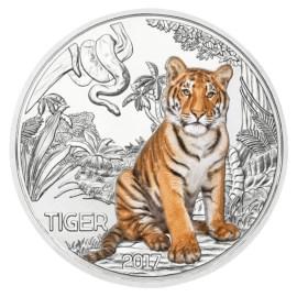 """Austria 3 Euro """"Tiger"""" 2017"""