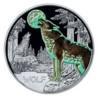 """Oostenrijk 3 Euro """"Wolf"""" 2017"""