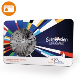 65 years of Eurovision Song Contest Medal in coincard