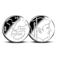 75 years of freedom 5 Euro Coin 2020 Silver Proof