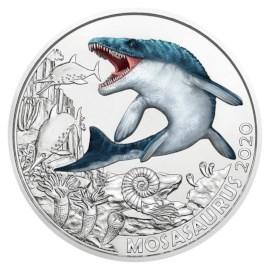 """Oostenrijk 3 Euro """"Mosasaurus"""" 2020"""