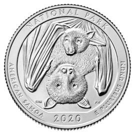 """US Quarter """"Samoa"""" 2020 D"""