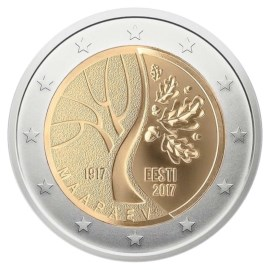 "Estland 2 Euro ""Onafhankelijkheid"" 2017"