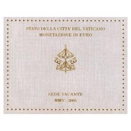 """Vaticaan BU Set """"Sede Vacante"""" 2005"""