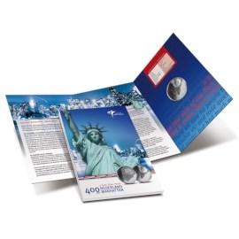 5 Euro 2009 400 jaar Nederland-Manhattan Proof
