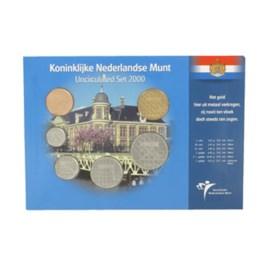Jaarset Nederland guldenmunten 2000 UNC