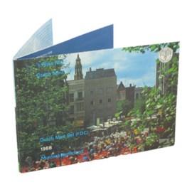 Jaarset Nederland 1988 FDC