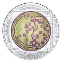 "Austria 25 Euro ""Big Data"" 2020"