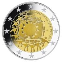 """Duitsland 2 Euro Set """"Europese Vlag"""" 2015 UNC"""