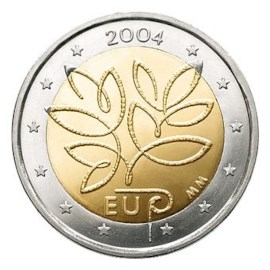 "Finland 2 Euro ""Uitbreiding EU"" 2004"