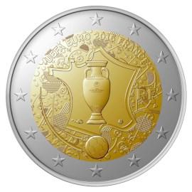 """Frankrijk 2 Euro """"UEFA"""" 2016"""