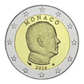 Monaco 2 Euro 2016 UNC