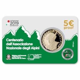 """Italy 5 Euro """"Alpine Corps"""" 2019"""