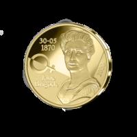 België 12,5 euromunt 2020 '150ste verjaardag geboorte Jane Brigode' Goud Proof in etui