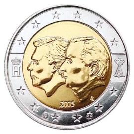 "België 2 Euro ""Henri & Albert"" 2005"