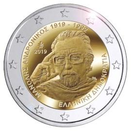 "Griekenland 2 Euro ""Andronikos"" 2019"