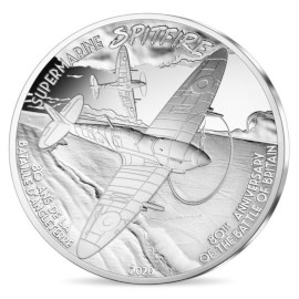 """Frankrijk 10 Euro """"Spitfire"""" 2020"""