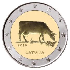 """Letland 2 Euro """"Landbouw"""" 2016"""