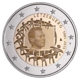 "Luxemburg 2 Euro ""Europese Vlag"" 2015"