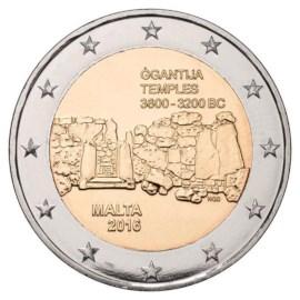 """Malta 2 Euro """"Ggantija"""" 2016 UNC"""