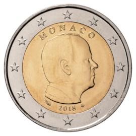 Monaco 2 Euro 2018 UNC