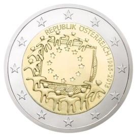 "Oostenrijk 2 Euro ""Europese Vlag"" 2015."