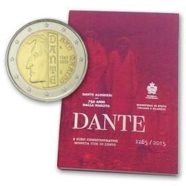 """San Marino 2 Euro """"Dante"""" 2015"""