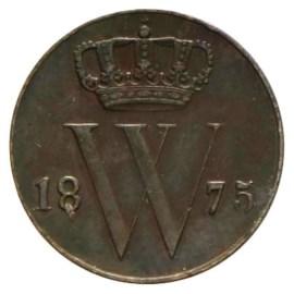 ½ Cent 1875-1877 Willem III ZFr
