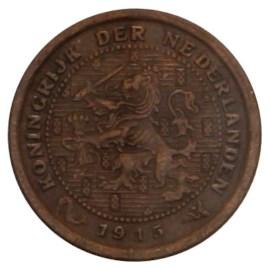 ½ Cent 1909-1930 Wilhelmina (3e type) ZFr
