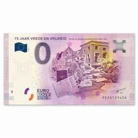 "0 Euro Biljet ""Hotel De Wereld"""
