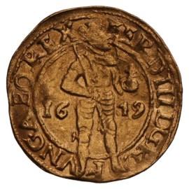 Golden Ducat 1619 Kampen F
