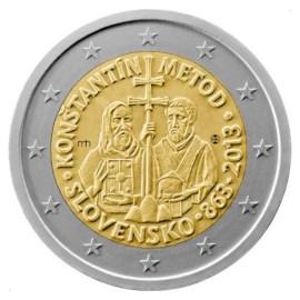"""Slowakije 2 Euro """"Konštatín en Metod"""" 2013"""