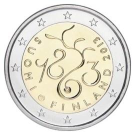 "Finland 2 Euro ""150 Jaar Parlement"" 2013"