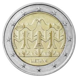 "Litouwen 2 Euro ""Zang en Dans"" 2018"