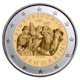 """San Marino 2 Euro """"Pinturicchio"""" 2013"""